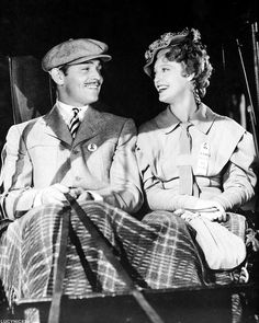 Clark Gable and Jeanette MacDonald - San Francisco, 1936