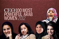 100 Most Powerful Arab Women 2012