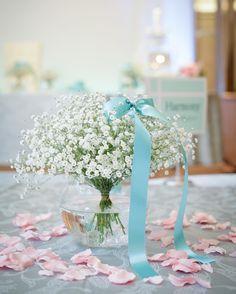 ガラスボールを使ったゲストケーブル装花飾り方アイデアまとめ | marry[マリー]