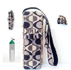 Portable Oxygen Tank Bags Handmade Designer Carrier by AmariJade