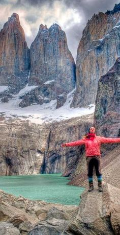 Torres del Paine Base, Chile. If you want to scape, visit our tours at www.cascada.travel #patagonia