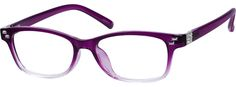 Order online, women purple full rim acetate/plastic rectangle eyeglass frames model #200817. Visit Zenni Optical today to browse our collection of glasses and sunglasses.