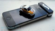 Yea, this is awesome. Little RC hot wheels controlled by an app.
