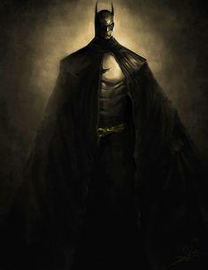 The Dark Knight: Speed Art