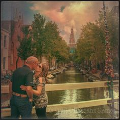 Love in common people. Padlocks of love. Amsterdam