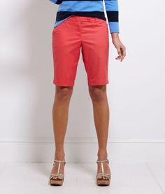 Regular Bermuda, Walking 6 Shorts for Women Shorts Outfits Women, Preppy Outfits, Short Outfits, Summer Outfits, Cute Outfits, Bermuda Shorts Outfit, Modest Shorts, Pink Shorts, Preppy Handbook