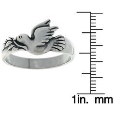 Carolina Glamour Collection Jewelry Trends Sterling Dove Ring