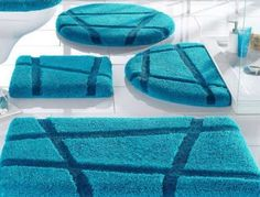 bath rugs sets back polyester raschel 3pcs bathroom rug set buy bathroom carpet 240 - Bathroom Carpet