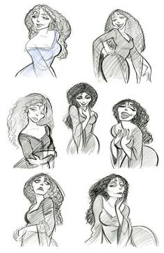 Mother Gothel, Tangled Concept Art