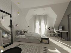 Wnętrza mieszkalne 2015 - Nowoczesny i minimalistyczny pokój - zdjęcie od Art&Design Kinga Śliwa - Sypialnia - Styl Nowoczesny - Art&Design Kinga Śliwa
