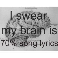 gotta have my tunes ...