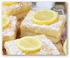 Cuadratitos de limón