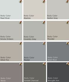 Benjamin Moore top picks for grey by jules564
