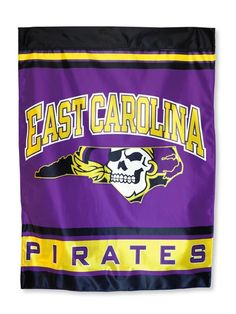 East Carolina Pirates House Flag