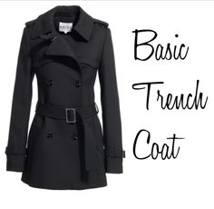 Love a good trench coat!