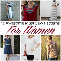 I want to sew all of them. So many great sewing patterns for women. Great DIY fashion