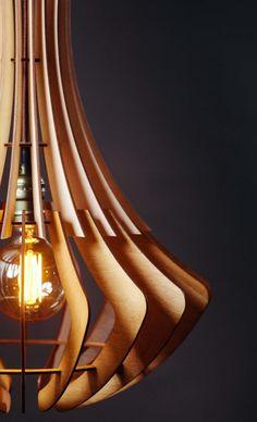 Wooden Eco Light (LI30) – Lightornia  #woodlampshade #woodlamp #woodenlamp #woodlighting #woodenlighting #woodchandelier #woodenchandelier #scandinavianlighting #scandinavianlamp #woodenpendant #woodpendant #loftlamp #woodlighting #woodenlight Wood Lamp Shade Wooden Chandelier Lighting