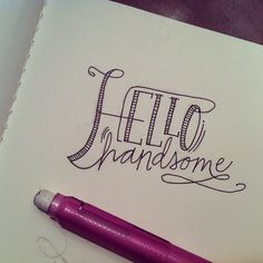 hello handsome! #instagram @adalouvintage #doodles #vampire ©sandi devenny :)                                                                                                                                                     More