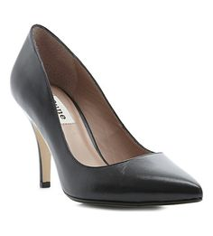 DUNE Appoint leather courts (Black leather