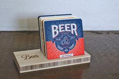 Bier-Presse-Kollektion: Coaster Komplettset | Die weltweit größten Bierdeckel
