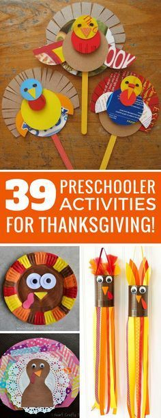 These Thanksgiving activities for preschoolers are so much fun! Love that turkey windsock! Thanks for sharing!