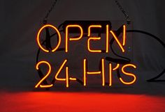 """New OPEN 24Hrs Sign 9.8"""" x 7"""" LED Business Neon Light Sign for Shop Store Beer Pub Hotel Restaurant Cafe Recreational Game Room - Brought to you by Avarsha.com"""
