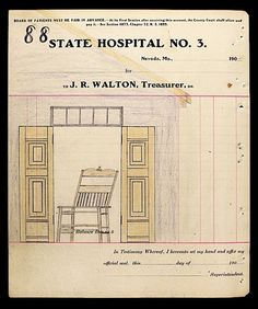 """""""Around the year 1910, a patient at State Lunatic Asylum No. 3 in Nevada, Missouri, who referred to himself as The Electric Pencil, executed 280 drawings in ink, pencil, crayon and colored pencil."""""""