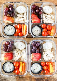 These Bistro Style Meal Prep Snack Boxes are packed with some of my favorite snacks to get you through a busy day. Greatfor breakfast, lunch, or grabbing a healthy snack, they are the perfect balance of protein, fruit and veggies to keep you going! If you are following the new Weight Watchers Freestyle program, you …