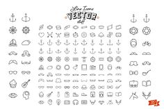 110 icons by Noka Studio on @creativemarket