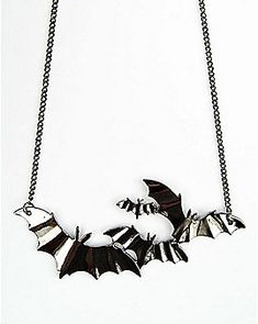 Statement Bat Necklace