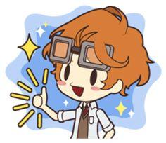 Notice Me Senpai! Mobile Game - Creators' Stickers