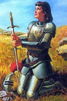 St Joan of Arc #Joanofarc #jeanndarc
