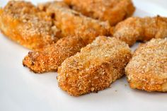 Baked Spicy Chicken Nuggets:  10 nuggets; 200 calories, 7.5 g fat, 6 WW points per 4 nugget serving