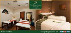 Relaxation is a must while you explore along the way. Rejuvenate yourself at Golden Palms Hotel & Spa, Bengaluru. Visit www.goldenpalmshotel.com #SpaSaturdays
