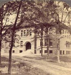 """Science Building, University of New Brunswick, Fredericton, N.B."", ca. 1902."