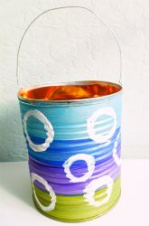 Make a compost can at home! #earthday #crafts