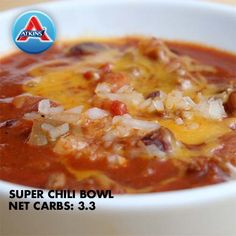 It's that time of year for a big bowl of delicious chili!