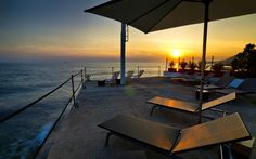 Tre Merli Beach Hotel in Trieste, Italy