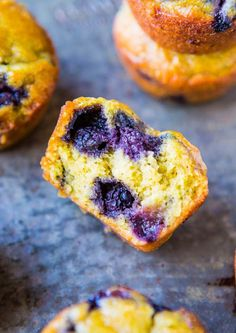 The BEST vegan blueberry muffins! Made these this afternoon and they turned out perfectly! Super tasty but may add less blueberries next time; the ones I used were HUGE-Paige