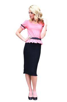 Mikarose Knee-Length Short Sleeve Spring Dress- Addison Coral,  http://www.amazon.com/gp/product/B00CHS015W/ref=as_li_tl?ie=UTF8&camp=1789&creative=390957&creativeASIN=B00CHS015W&linkCode=as2&tag=modmod-20&linkId=SDZ7ODHNETCVAMAI