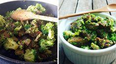 Low Carb Rezept für eine leckere Low-Carb Asia-Brokkoli-Rindfleisch Pfanne. Wenig Kohlenhydrate und einfach zum Nachkochen. Super für Diät/zum Abnehmen.