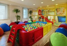 childrens playroom home decoration | Home Designs Ideas