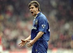 Stoke manager Mark Hughes played for Chelsea during his career Chelsea Fc News, Everton Fc, Chelsea Football, Steven Gerrard, Blue Bloods, Premier League, Arsenal, Liverpool, Hero