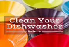 Can you get clean in a dirty tub? Neither can your plates. It's important to clean your dishwasher every few months to make sure it can do its job as effectively as possible. If you don't do this, it won't be long before you start finding bits of food and residue on those plates and glasses that are supposed to be clean.