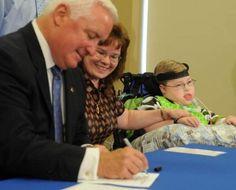 Gov. Corbett signs bill to help medically fragile children