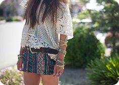 love this casual but with longer shorts