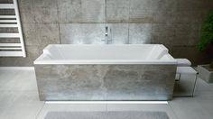 WANNA QUADRO Jedna z wielu naszych wanien, której projekt powstał specjalnie z myślą o korzystaniu z kąpieli we Dwoje!  Charakterystyczny, nowoczesny design wraz z zagłówkami Modern gwarantują maksymalny komfort wspólnego relaksu! Wanna z wyróżnieniem w prestiżowym Konkursie Łazienka 2014!!