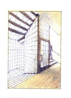 Glass stair case with central lift design by #LuigiRosselli   © Luigi Rosseli   #LuigiRosselliArchitects #Architecture