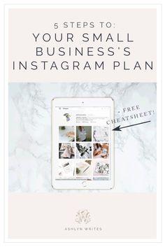 Instagram Small Business | social media | entrepreneur | creativepreneur | blogger