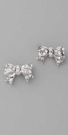 These will match the Tiffany diamond bow ring I want! ; )